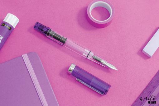 TWSBI ECO Transparent Purple Fountain Pen