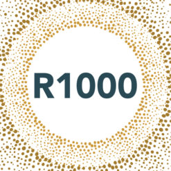 Front Cover Picture for R1000 Gift Card