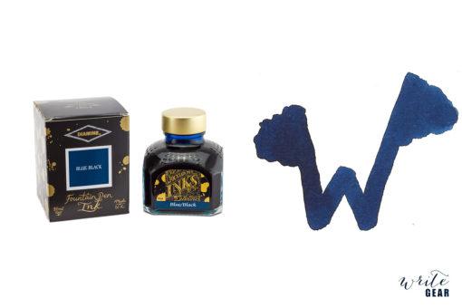 Diamine Fountain Pen Ink - Blue Black