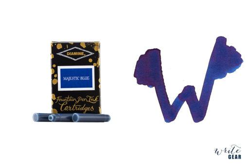 Diamine Ink Cartridge 6 Pack - Majestic Blue
