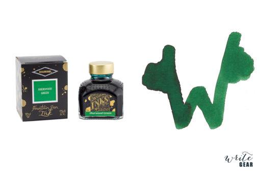 Diamine Fountain Pen Ink - Sherwood Green