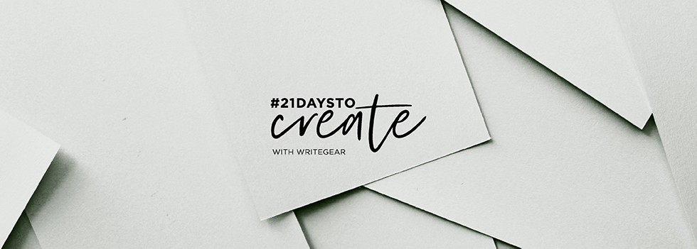#21DaysToCreate - Home Page Banner