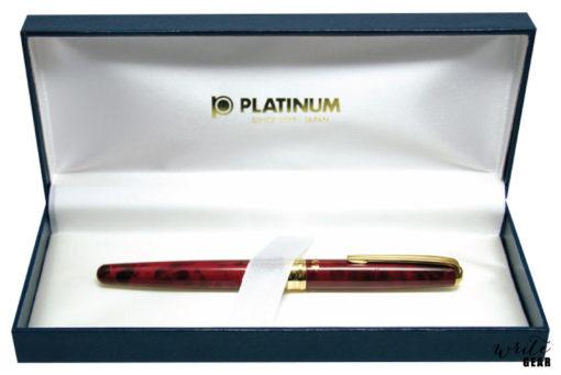 Platinum Brush Pen - Red