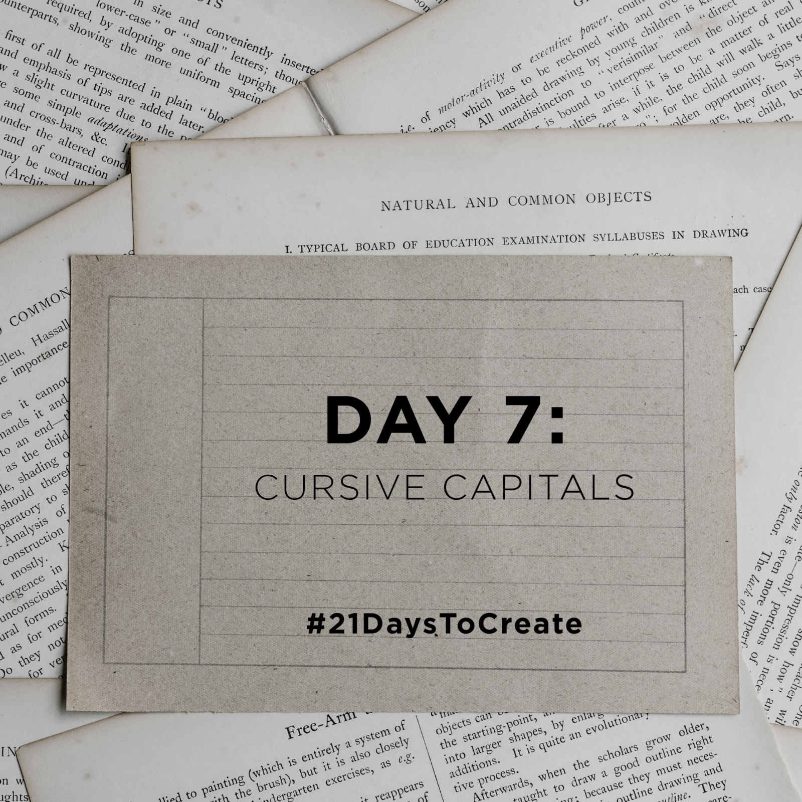 #21daystocreate