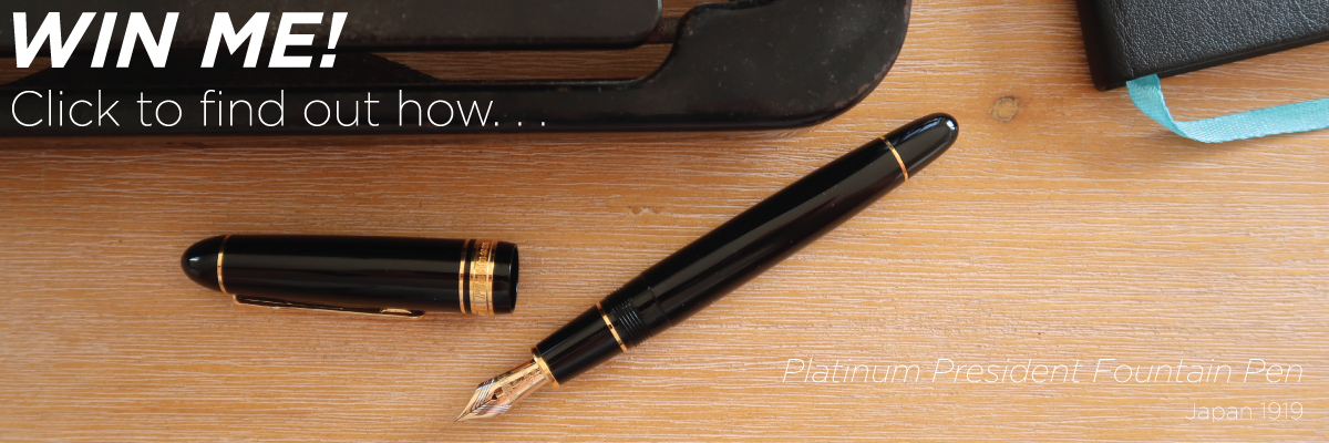 Platinum President Fountain Pen Giveaway