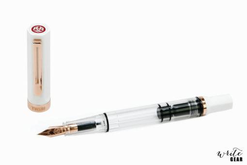 TWSBI ECO Fountain Pen - White with Rose Gold