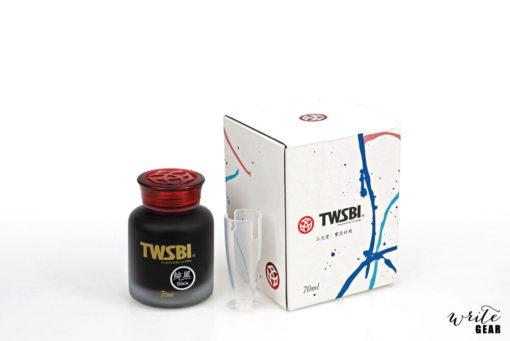 TWSBI Fountain Pen Ink-Black 70ml