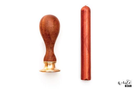 Custom Wax Stamp and Wax Stick