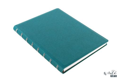 Filofax Saffiano Notebook Aqua A5