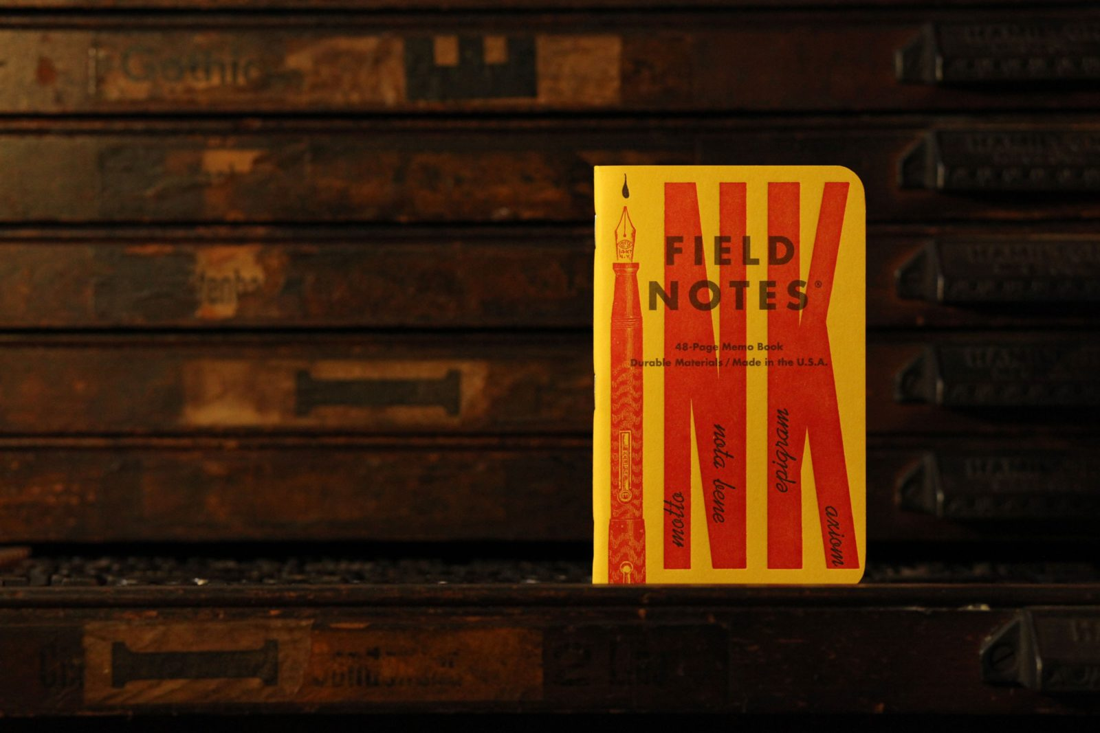 Field Notes Letterpress Blog Image