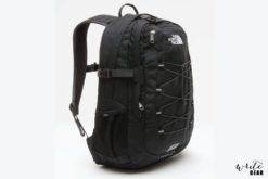 The North Face Borealis Classic Backpack in Black and Grey Colour