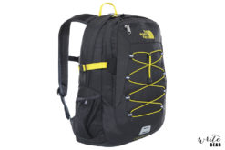 The North Face Borealis Classic Backpack in Black and Yellow Colour