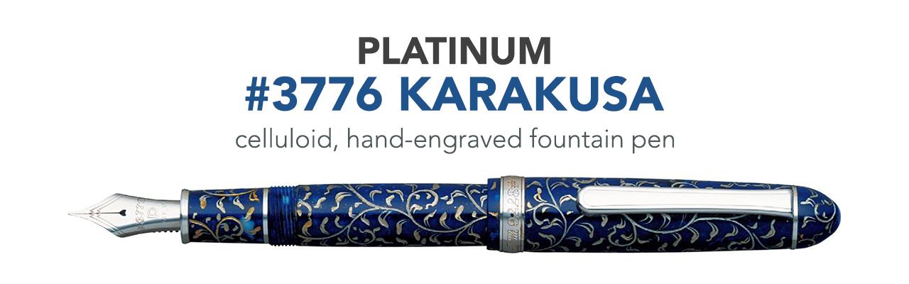 Platinum 3776 Karakusa
