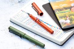 Lamy Safari Limited Edition Fountain Pen - Savannah and Terra Red