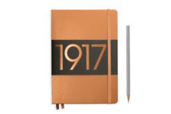 Leuchtturm Notebook Hardcover - A5 - Copper - Dotted