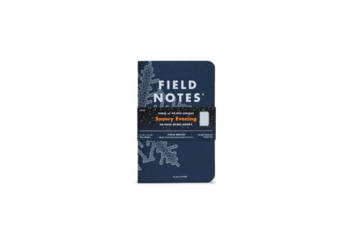 Field Notes Snowy Evening Cover