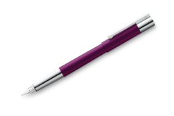Lamy Scala Fountain Pen Dark Violet