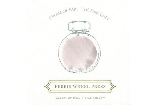 Ferris Wheel Press Fountain Pen Ink Cream of Earl Ink Swab