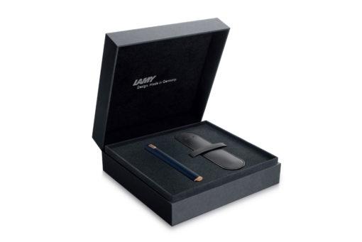 Lamy Dialog cc Fountain Pen - Dark Blue - Packaging Box